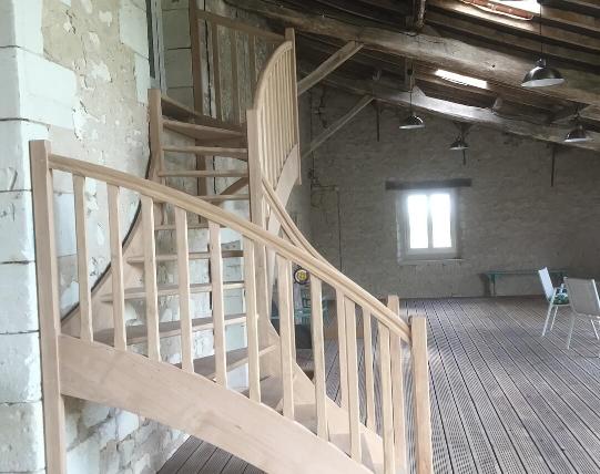 REGIS BERTHELOT Fabricant Escaliers Longue Jumelles Escaliers Traditionnels 1
