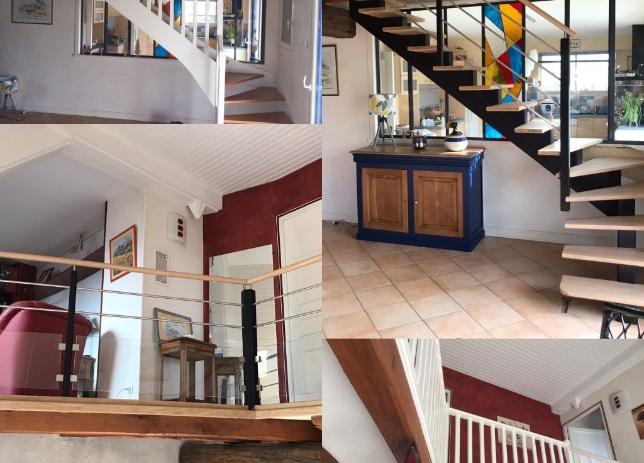 REGIS BERTHELOT Fabricant Escaliers Longue Jumelles Contemp