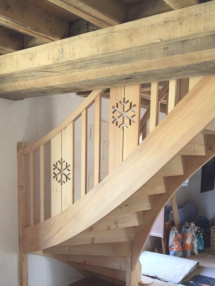 REGIS BERTHELOT Fabricant Escaliers Longue Jumelles 651