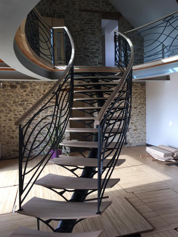 REGIS BERTHELOT Fabricant Escaliers Longue Jumelles Escalier Metallique 2