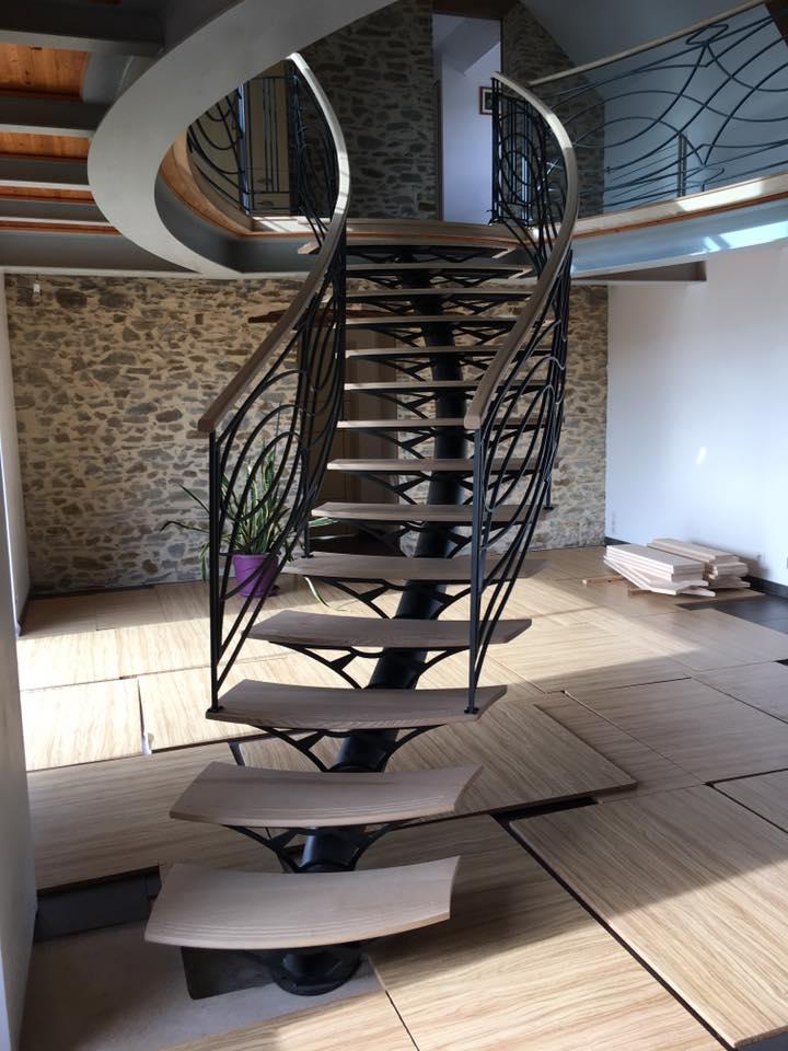REGIS BERTHELOT Fabricant Escaliers Longue Jumelles Escalier Metallique 3