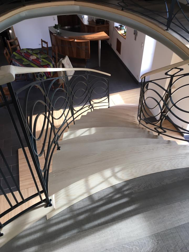 REGIS BERTHELOT Fabricant Escaliers Longue Jumelles Escalier Metallique 4