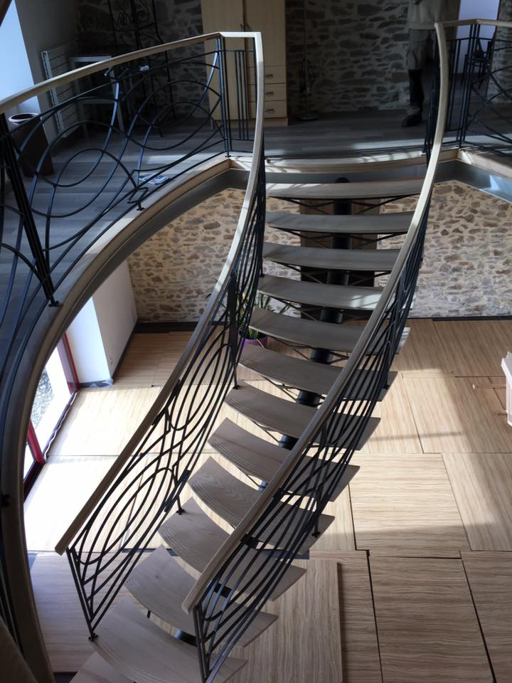 REGIS BERTHELOT Fabricant Escaliers Longue Jumelles Escalier Metallique 5