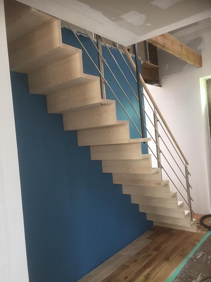 REGIS BERTHELOT Fabricant Escaliers Longue Jumelles Escalier Suspendu Et Garde Corps Inox.2 1