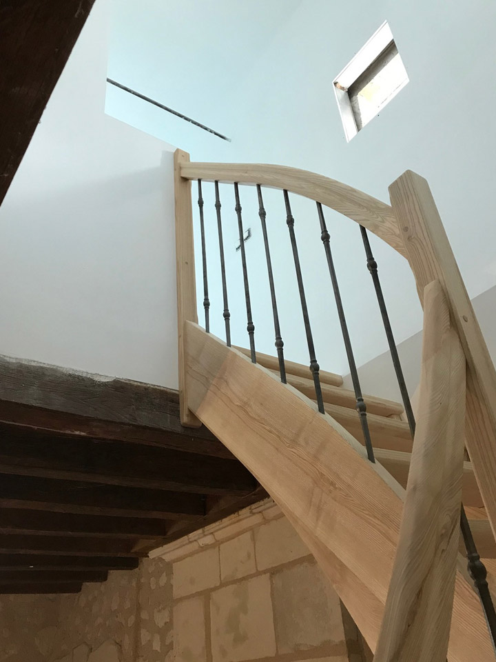 REGIS BERTHELOT Fabricant Escaliers Longue Jumelles A