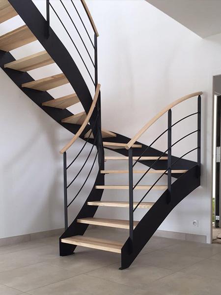 REGIS BERTHELOT Fabricant Escaliers Longue Jumelles Ii