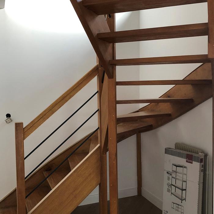 REGIS BERTHELOT Fabricant Escaliers Longue Jumelles APRES 2