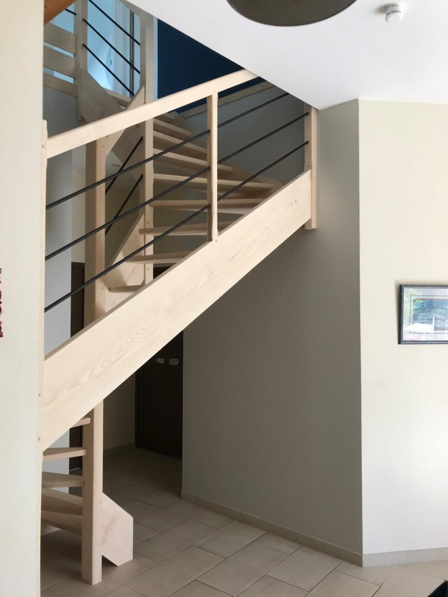 REGIS BERTHELOT Fabricant Escaliers Longue Jumelles Image006