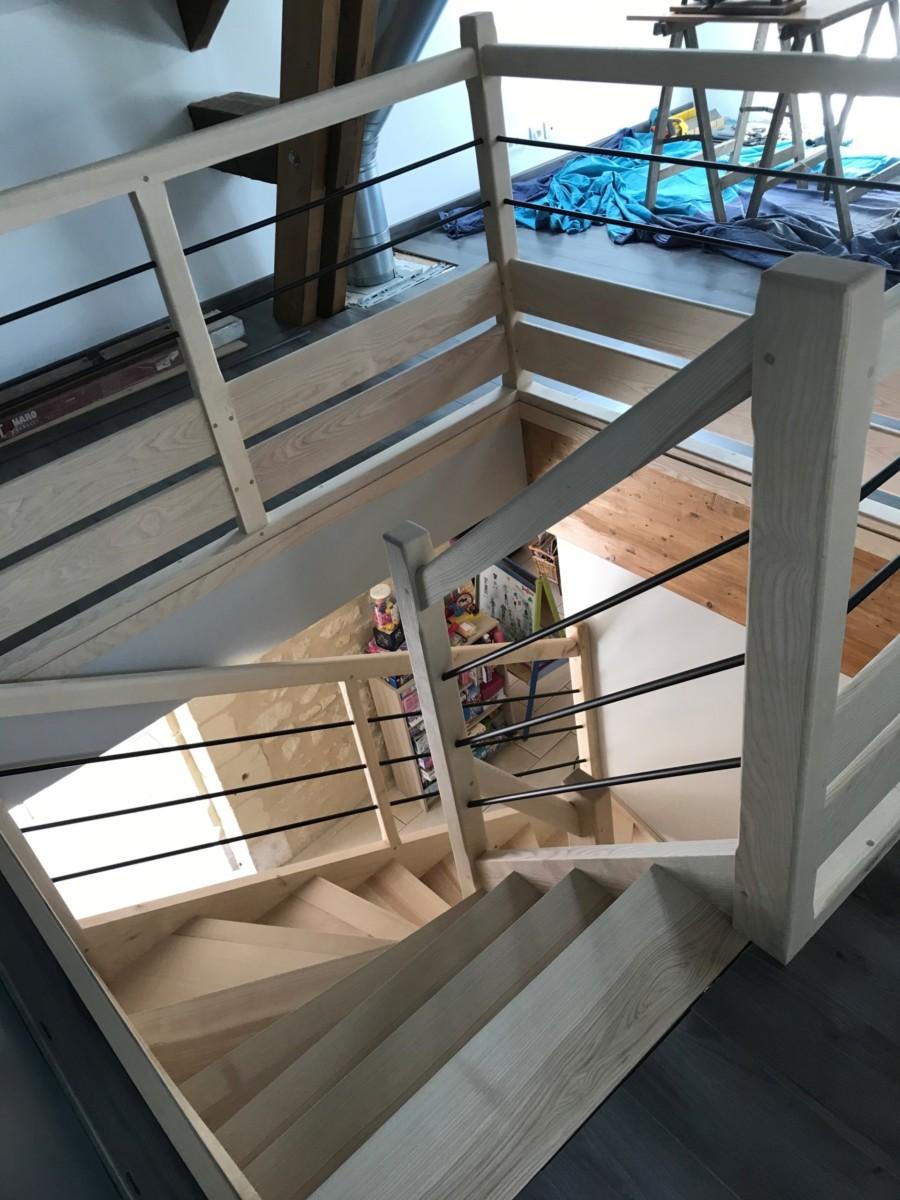 REGIS BERTHELOT Fabricant Escaliers Longue Jumelles Image007