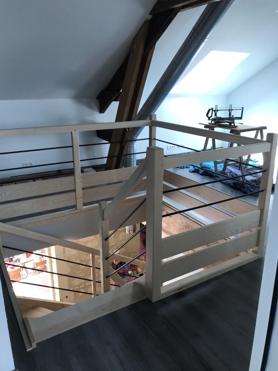 REGIS BERTHELOT Fabricant Escaliers Longue Jumelles Image008